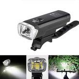2PcsXANESSFL03600LMXPGLED Luz de bicicleta de indução inteligente padrão alemã IPX4 USB Luz de inundação grande recarregável
