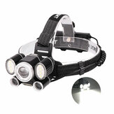 XANES® 2055 9-Modes 1200LM P50+2T6+COB 6LEDs Cycling Headlight Waterproof Outdoor Head Lamp For Camping Hunting