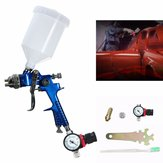 600CC 1.4mm HVLP Air Spray Gun Tool Automotive Shop Painting Tools with Gauge