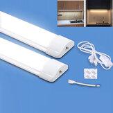 5/10 / 20W T5 LED Lamba Kabin Altı Işıkları LED Mutfak Tüp Dolap Mutfak Yatak Odası Aydınlatması için Işık Çubuğu Duvar Lamba - AB Tak