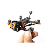 Dragon Frog 3 pouces 139mm empattement en fibre de carbone FPV Racing Frame Kit compaitble pour DJI CADDX VISTA