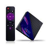 H96 Mini V8 RK3228A DDR3 2GB RAM eMMC 16GB ROM Android 10.0 4K HD TV Box Support TikTok TV Control 2.4G Wifi Widewine Level1 HEVC H.265 VP9 Video Decoding