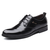 Big Size Soft Office Business Leather Oxfords