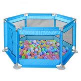 Mobili per bambini Set di box per bambini Giocattoli per piscine Barriere di sicurezza per bambini Parco giochi per bambini Parco di palline con 20 pezzi di palline colorate per 0-6 anni