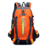 40L Climbing Backpack Waterproof Nylon Sports Travel Hiking Shoulder Bag Unisex Rucksack