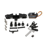 EMAX Intercepter FPV RC Car Front Wheel Shock Steering Servo Suspension Parts Kit for 1/24 Vehicles Model