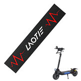 LAOTIE Scooter Pedal Footboard Tape Red Sandpaper Sticker Anti-slip Waterproof Protective Skate Stickers for LAOTIE Scooter