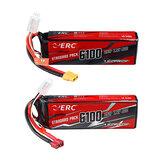 SUNPADOW ERC 7,4V 6100mAh 90C 2S Lipo Bateria T / XT60 Plug para carro RC