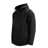 Męska kurtka SUPIELD Nano Technologia hydrofobowa Wodoodporna kurtka przeciwporostowa Odblaskowe logo Wiosenno-jesienna kurtka z kapturem