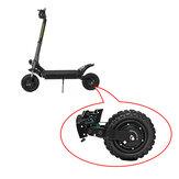 LANGFEITE T8 Scooter eléctrico plegable de 11 pulgadas Sin escobillas Buje motor Juego de neumáticos antideslizantes de ruedas traseras