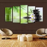 No Frame Green Huge Modern Abstract Wall Decoration Art Oil Painting Canvas Set