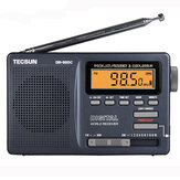 Tecsun DR-920C FM MW SW 12 Band Digitaluhr-Warnungs-Radioempfänger