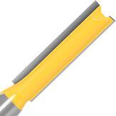 Fresa de roteador reto extra longo com haste de 1/2 polegada 3