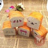 Squishy 10cm Soft Decorazioni per scrivania con pane tostato Kawaii Toast