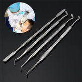 4Pcs Composite Dental Filling Instrument Probe Scaler Spatula Plugger Tools