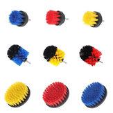 3 Stücke Gelb / Rot / Blau Bohrer Reinigungsbürste Wannenreiniger Fliesenmörtel Power Scrubber Combo Satz