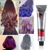 Hair Dye Tint Semi Permanent Hair Coloring Cream 6Colors Hair Care Styling Tools Women/Men 100ML