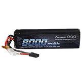 Gens ace 14.8V 8000mAh 50C 4S Lipo-batterij TRX-stekker voor RC-auto