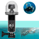 360-stopniowe pełne fotografowanie 60M wodoodporna obudowa ochronna do głębokości 60x60x165mm kieszonkowy futerał na aparat do nurkowania rama narzędzie do nurkowania dla DJI kamera OSMO