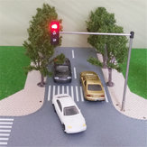 HO OO Scale Traffic Light Signal Model Train Architecture Crossing Walk Street Block Signals