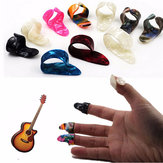 Gitarre Plastiknagel Favoriten Plektren 3 Finger Picks + 1 Thumb Plektren Plektren