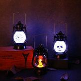 LED portatile retrò elettronico scheletro leggero senza fumo festa di nozze puntelli di Halloween decorazione luce Halloween