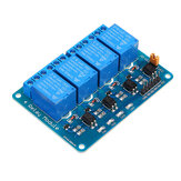 12V 4 Channel Relay Module PIC ARM DSP AVR MSP430 Geekcreit for Arduino - products that work with official Arduino boards