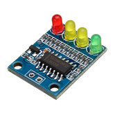 10pcs FXD-82B 12V Battery Indicator Board Module Load 4 Digit Electricity Indication With LED Lamp