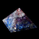 Himalaya Pierre Orgone Pyramid Générateur D'énergie Tour Décorations pour La Maison Reiki Guérison Cristal