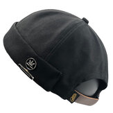 Collrown Heren Retro Katoen Verstelbare Brimless Hoeden Outdoor Skullcap Sailor Cap
