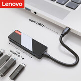 Lenovo A602 Type-C Adapter stacji dokującej USB-C Hub z 4-portowym adapterem Multi USB3.0 Splitter High Speed