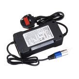 54.6 فولت 4a الناتج 48 فولت xlr التوصيل البطارية شاحن للكهرباء سكوتر دراجة e- الدراجة