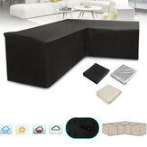 2.5x1.5x1m Garden Patio Furniture Waterproof Cover Dust Cover Oxford Outdoor Rattan Table Protection