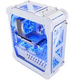 46*21*54.5cm Pccooler Blizzard Acrylic Ttransparent Computer Case Vertical for ATX/ITX/M-ITX