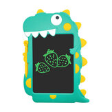 Aituxie LCD Writing Tablet Monochrome Green Handwriting Eye Protection for Kids Birthday Gift Environmentally Friendly Doodle Board New Dinosaur Drawing Pad for Girl Boys