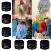 7 Renk Tek Kullanımlık Saç Renk Balmumu Saç Styling Boyaları Krem