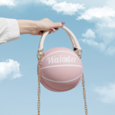 Women Fashion Basketball Football Chains Casual Handbag Crossbody Bag