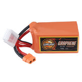 URUAV GRAPHENE 6S 22.2V 1300mAh 100C Lipo البطارية XT60 Plug for RC Racing Drone