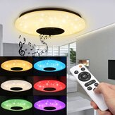 Moderne 60W RGB LED Deckenleuchte Bluetooth Music Speaker Lamp Remote APP Control
