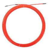30M 4.5mm Snake Cable Push Pulller Fish Tape carrete conducto Conduit Rodder tirando extractor
