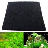 50x50x2cm Black Aquarium Biochemical Cotton Filter Foam Fish Tank Sponge Pads