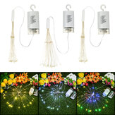 Treo đèn LED Firework Fairy String Light 8Modes Remote Home Party Wedding Decor