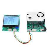 SM300D2 7-in-1 PM2.5 + PM10 + Temperature + Humidity + CO2 + eCO2 + TVOC Sensor Tester Detector Module with Display for Air Quality Monitoring