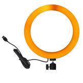 10.3インチRGBWフルカラーLEDリングライトMackupフィルライト(写真撮影用)Selfie Vlog Youtubeライブブロードキャスト携帯電話カメラ写真200 LEDランプビーズ