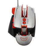 E72 Bedrade mechanische muis 8D Lighting Macro Programming Electronic Gaming Mouse met RGB Rainbow Backlight