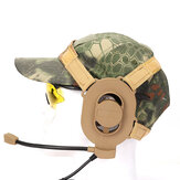Taktis Bowman Elite II Headset Earphone Untuk Z-TAC Bowman Unilateral Headphone Airsoft Aksesoris