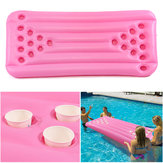 180x80x15CM 22 Holes PVC Inflatable Float Beer Game Table Swimming Pool Water Play Party