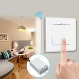 1 Way Wall Lamp Wireless Remote Control ON/OFF Light Switch  + Receiver AC220V