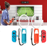 1 Pair Tennis Gamepad ABS Game Controller Sport Games Grip Tennis Racket Exercise Equipment