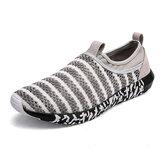 GiàythểthaonamComfythoáng trên giày thể thao dệt kim